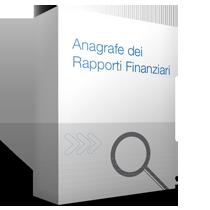 Anagrafe dei Rapporti Finanziari